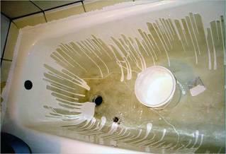 Реставрация ванн акрилом своими руками