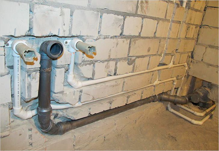 Переделка водопровода и канализации