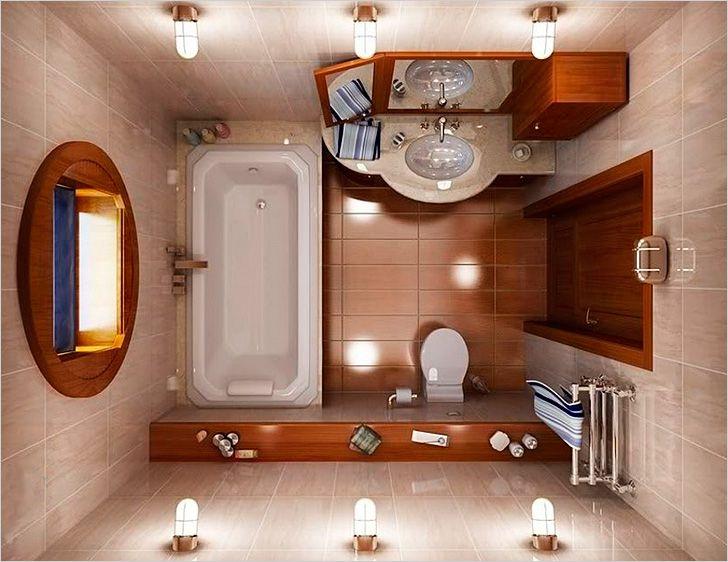 Как совместить туалет с ванной