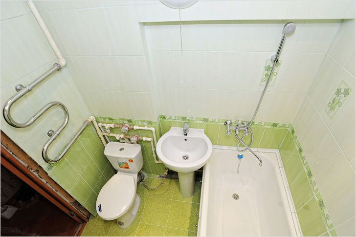 Как сделать разводку в ванной
