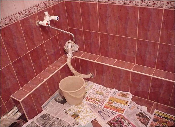 Как своими руками сделать короб для ванной