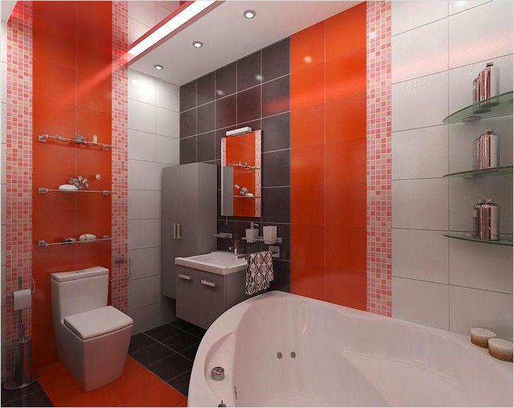 Отделать ванную комнату своими руками