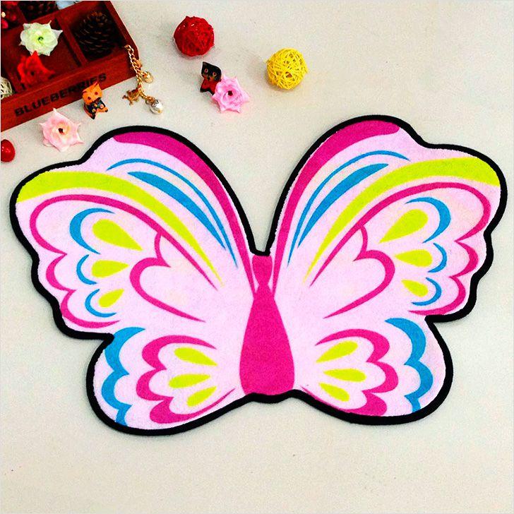 В форме бабочки