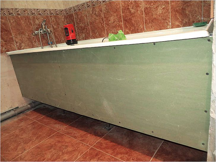 Экран из пвх под ванную своими руками 42