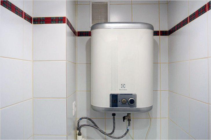 Как установить бойлер в ванной